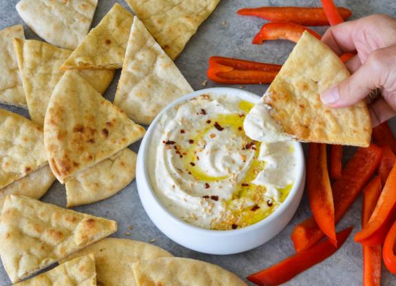 Patê de queijoFeta